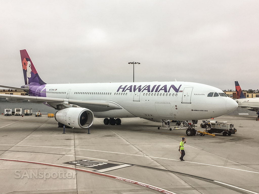 Hawaiian airlines A330 San Diego