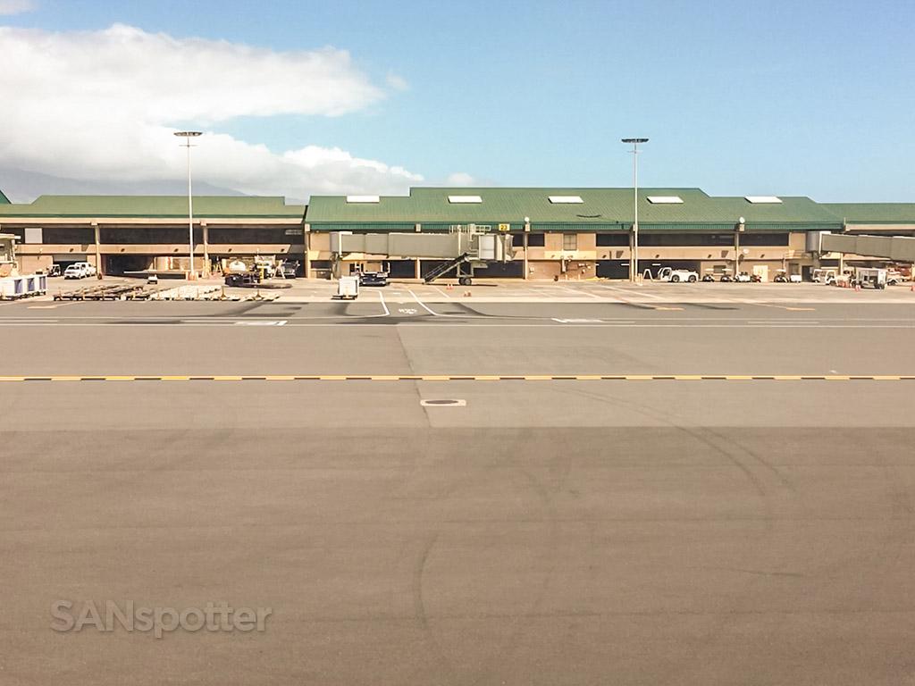 Maui airport Kahului