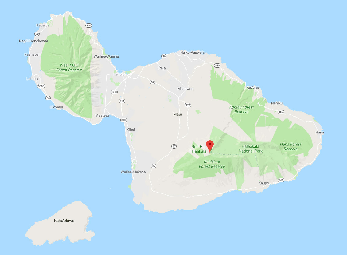 maui map overview