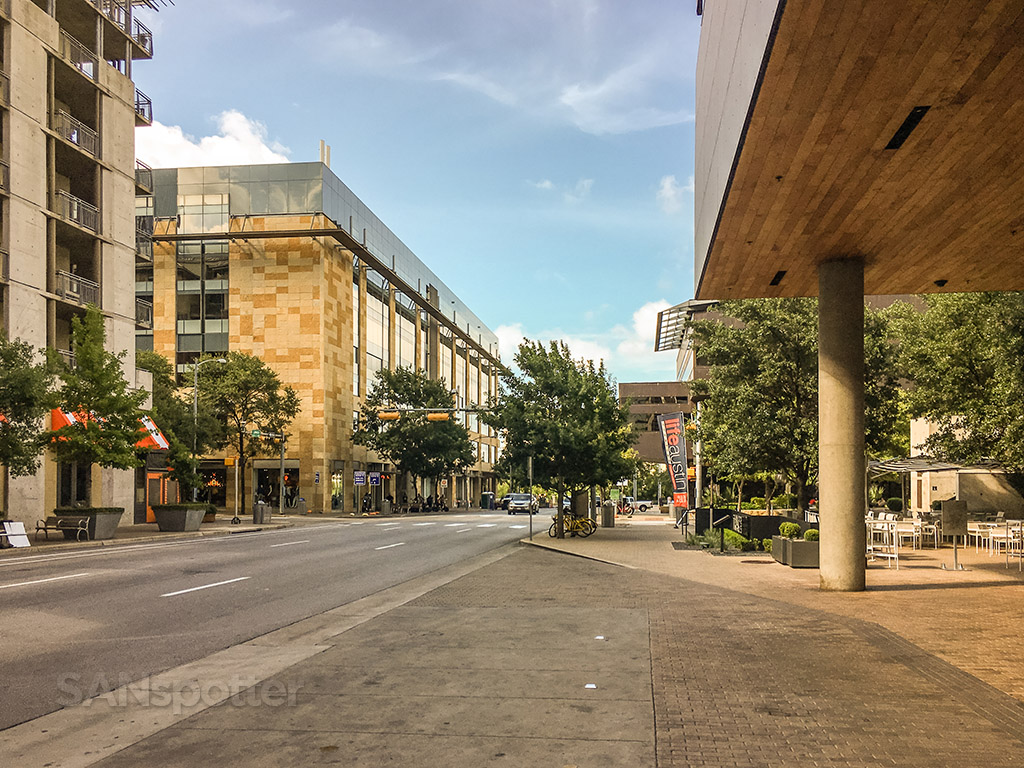 W Hotel downtown Austin location