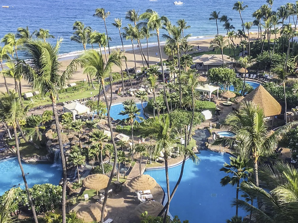 Westin Maui resort and spa pools
