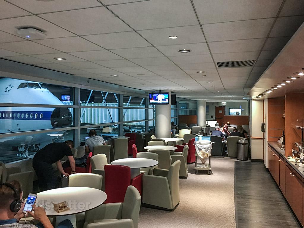 KLM Lounge ORD international terminal