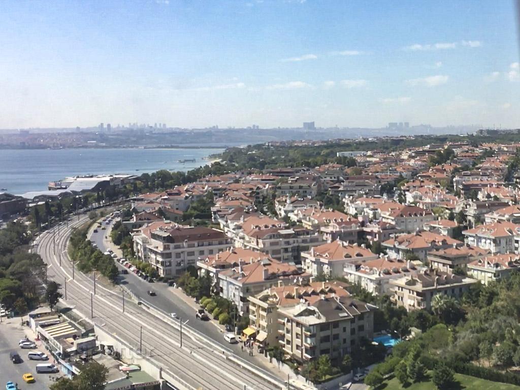 Istanbul scenery around airport