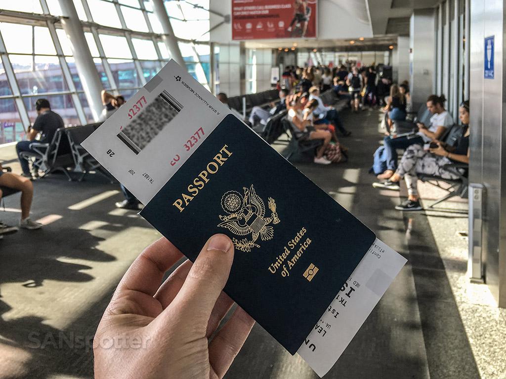US passport Istanbul airport