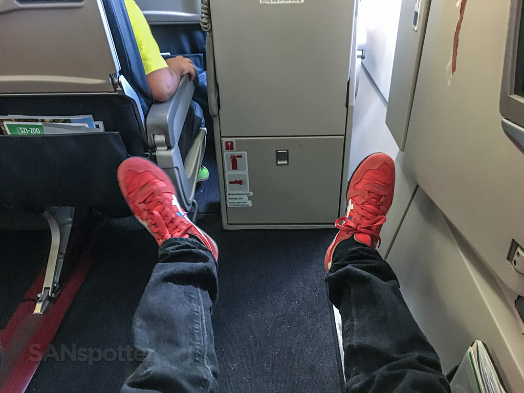 Turkish Airlines economy class exit row
