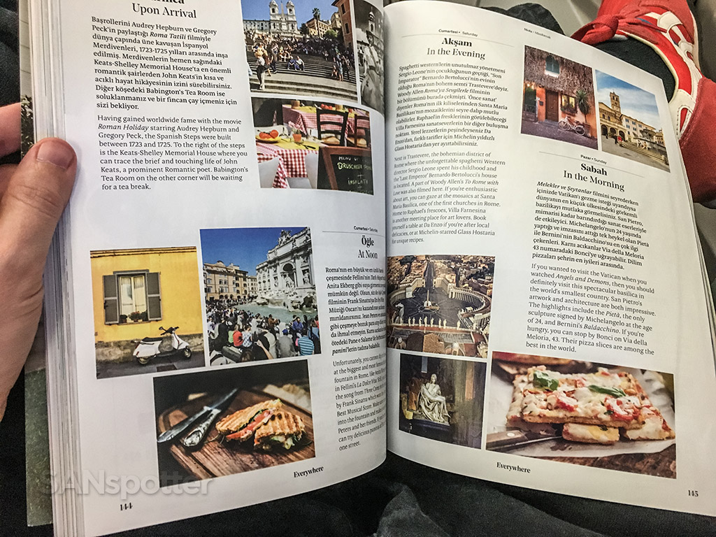Turkish Airlines in-flight magazine
