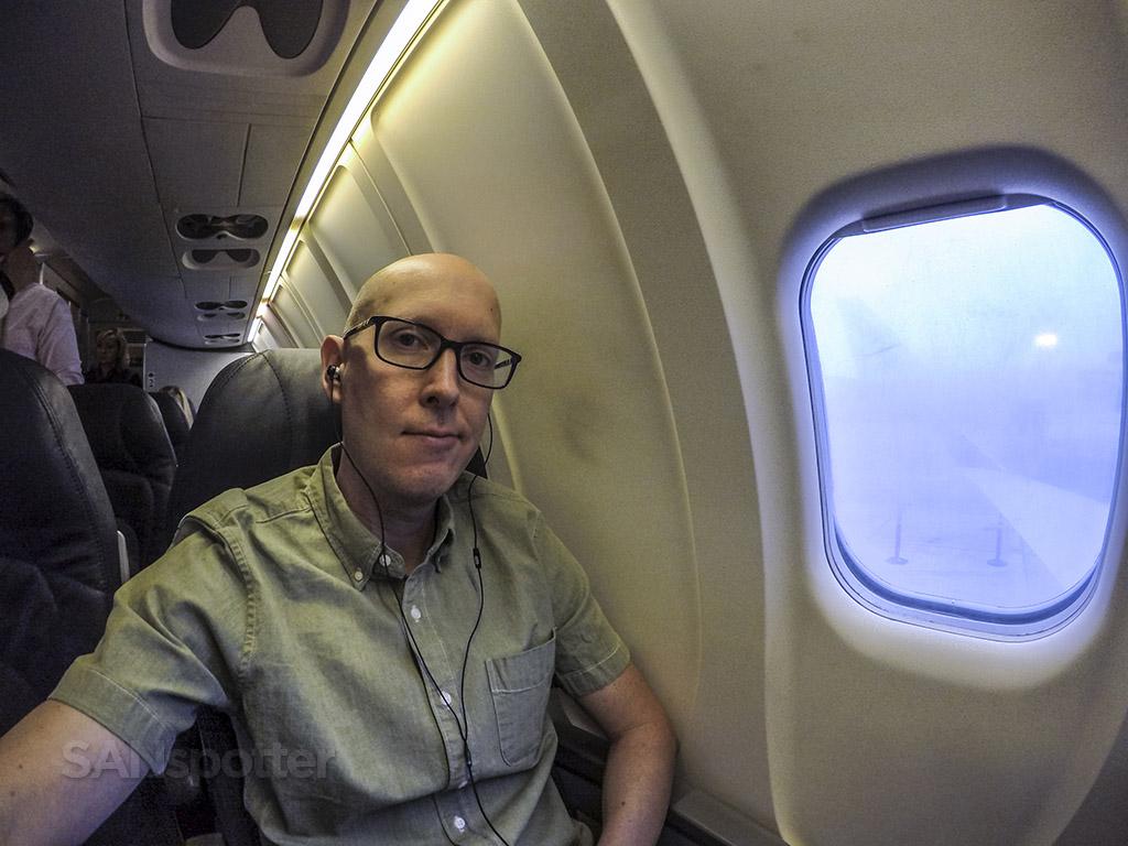 SANspotter selfie CRJ-900