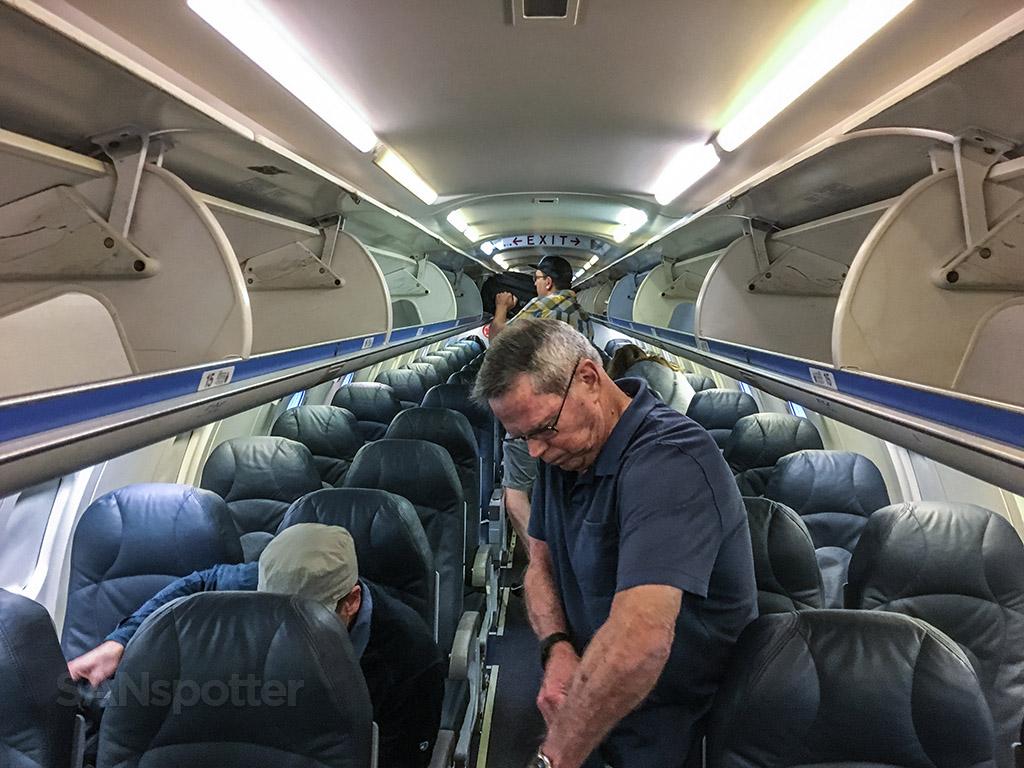 Air Canada CRJ-790 interior