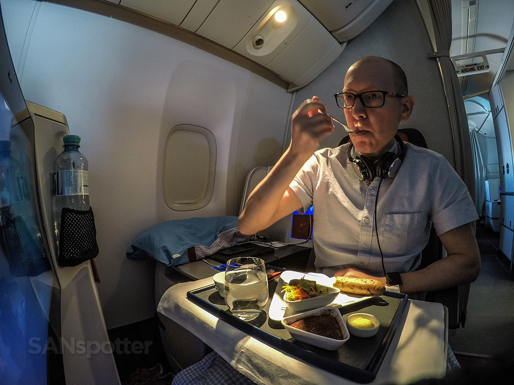 SANspotter selfie Austrian Airlines