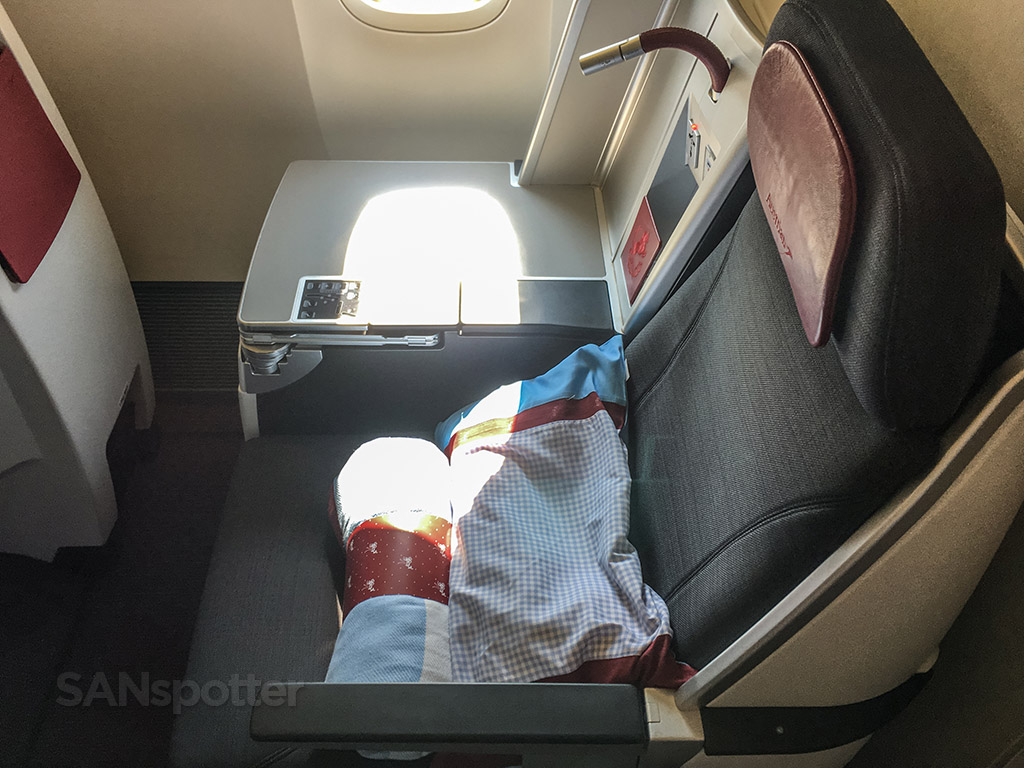 Austrian Airlines 777-200 business class seat