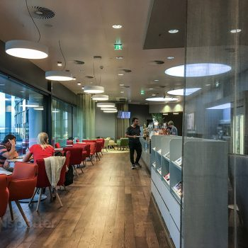 Vienna airport lounge review