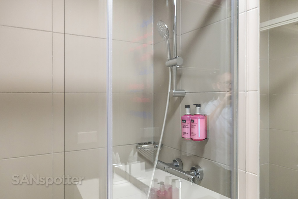 Moxy hotel shampoo and body wash
