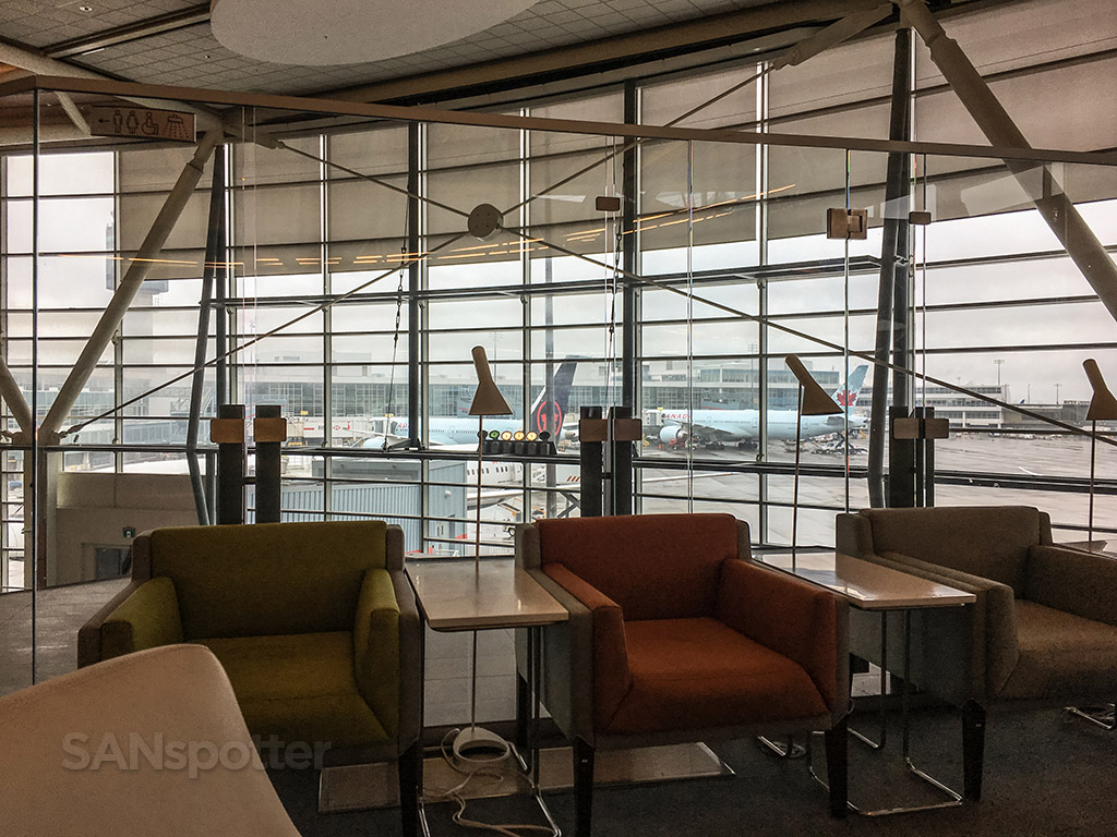 View from SkyTeam lounge yvr