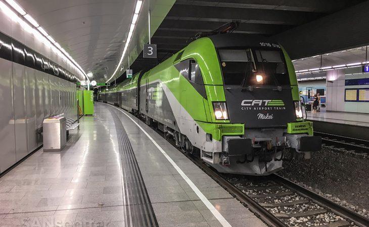 City express train Vienna airport