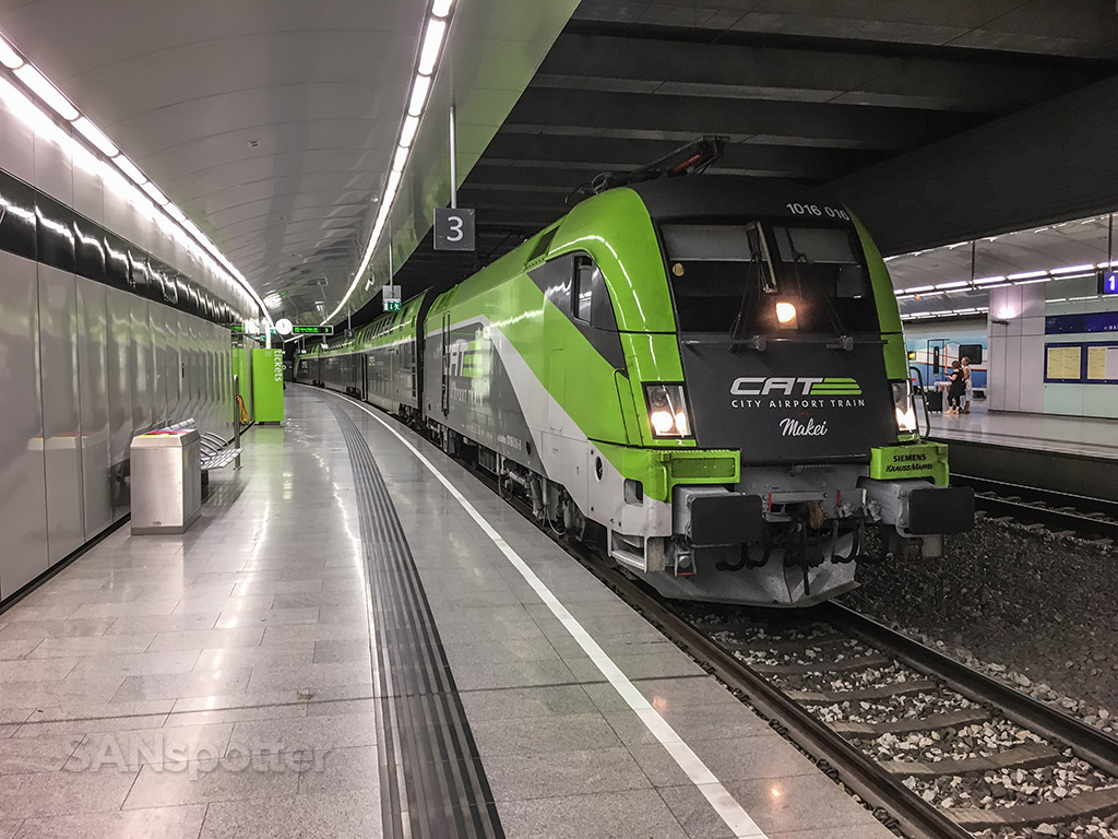 City express train Vienna airport
