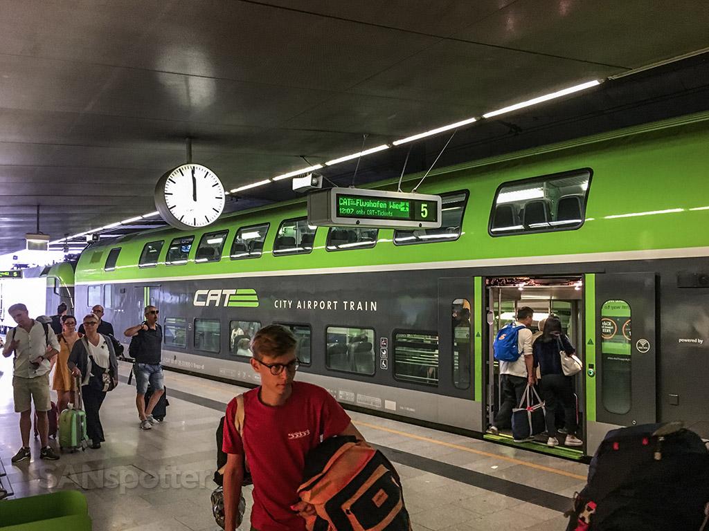 Viana city express train central station