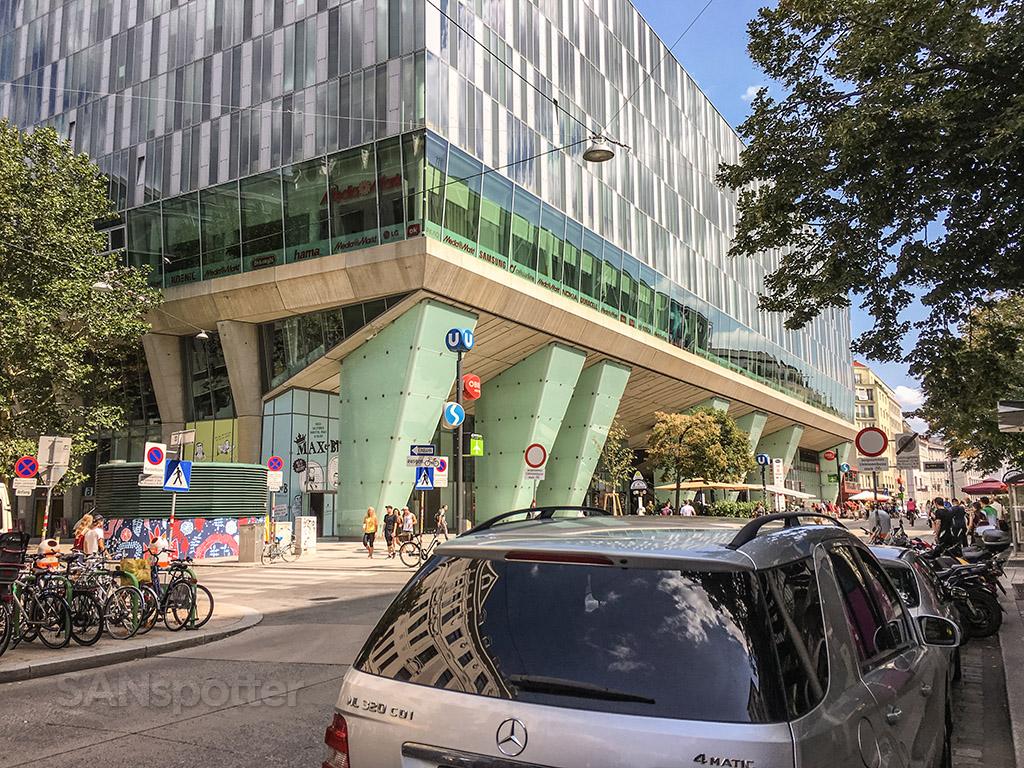 Viana central station exterior