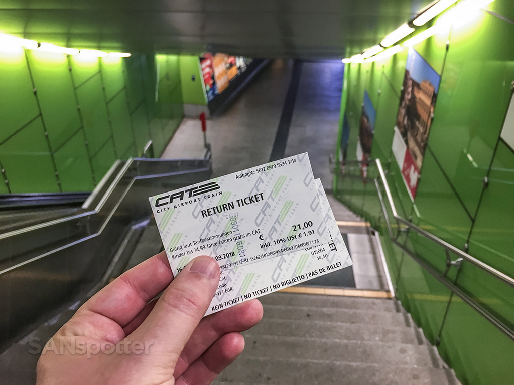 Vienna city express train round trip tickets