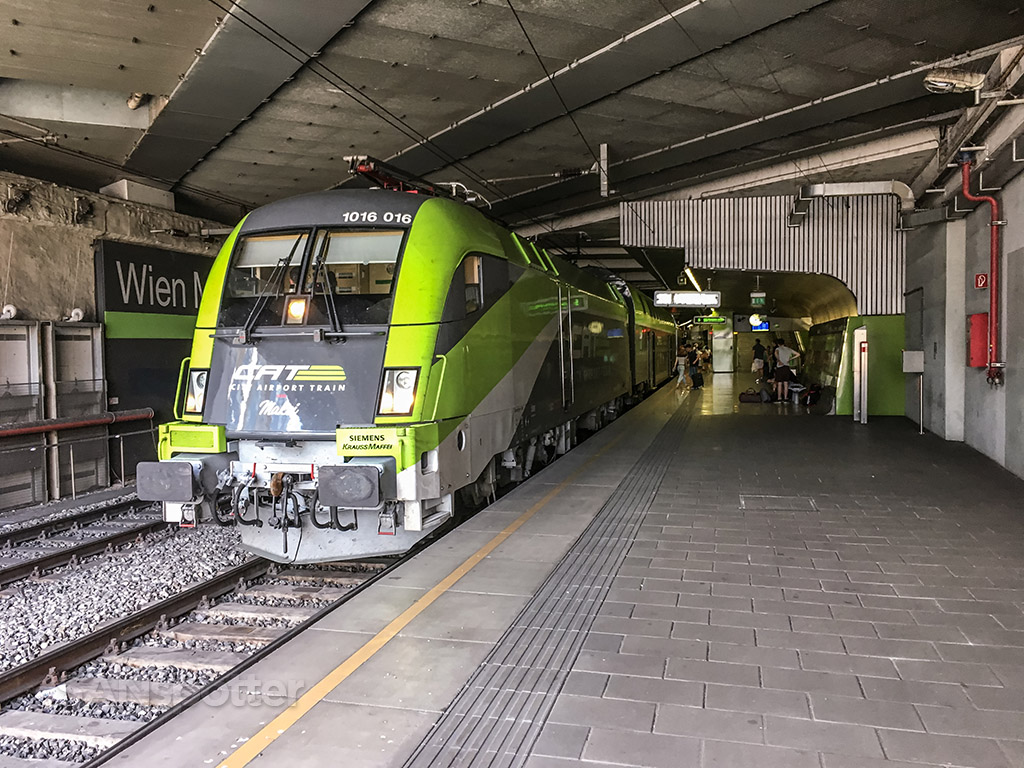 Vienna city express train review