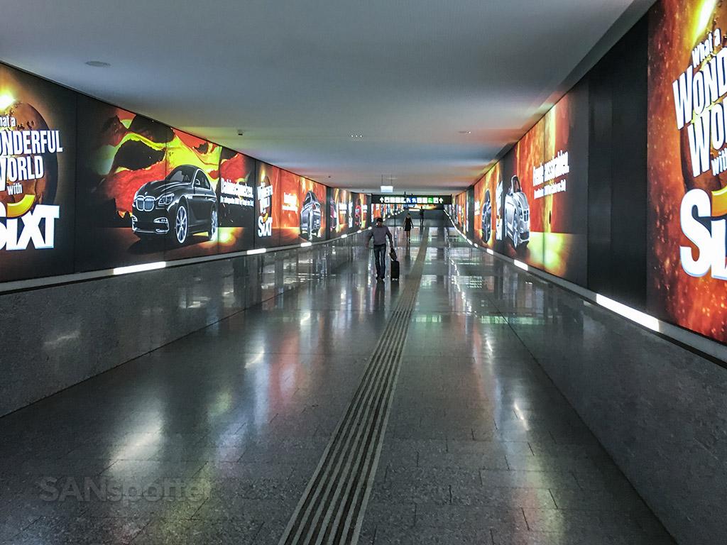 Underground tunnels Vienna airport