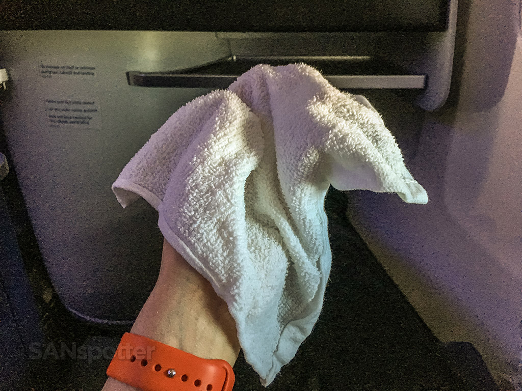 Delta one hot towel