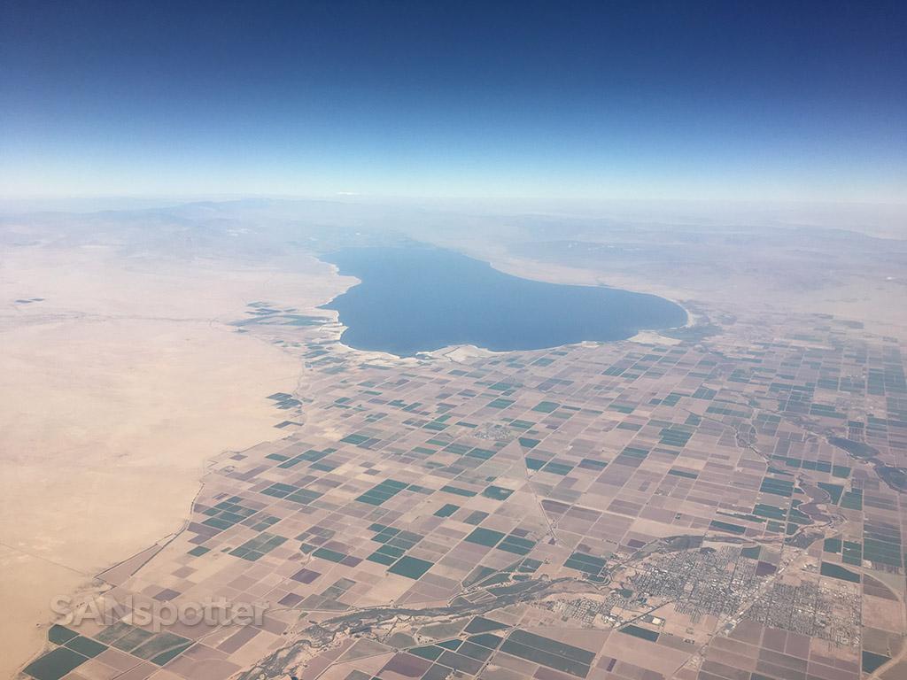 Salton sea flyover