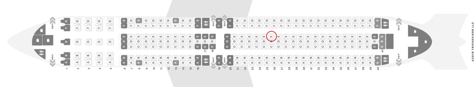 Icelandair 767-300ER seat map