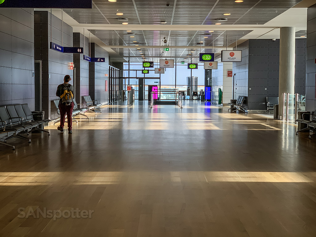 KEF airport design