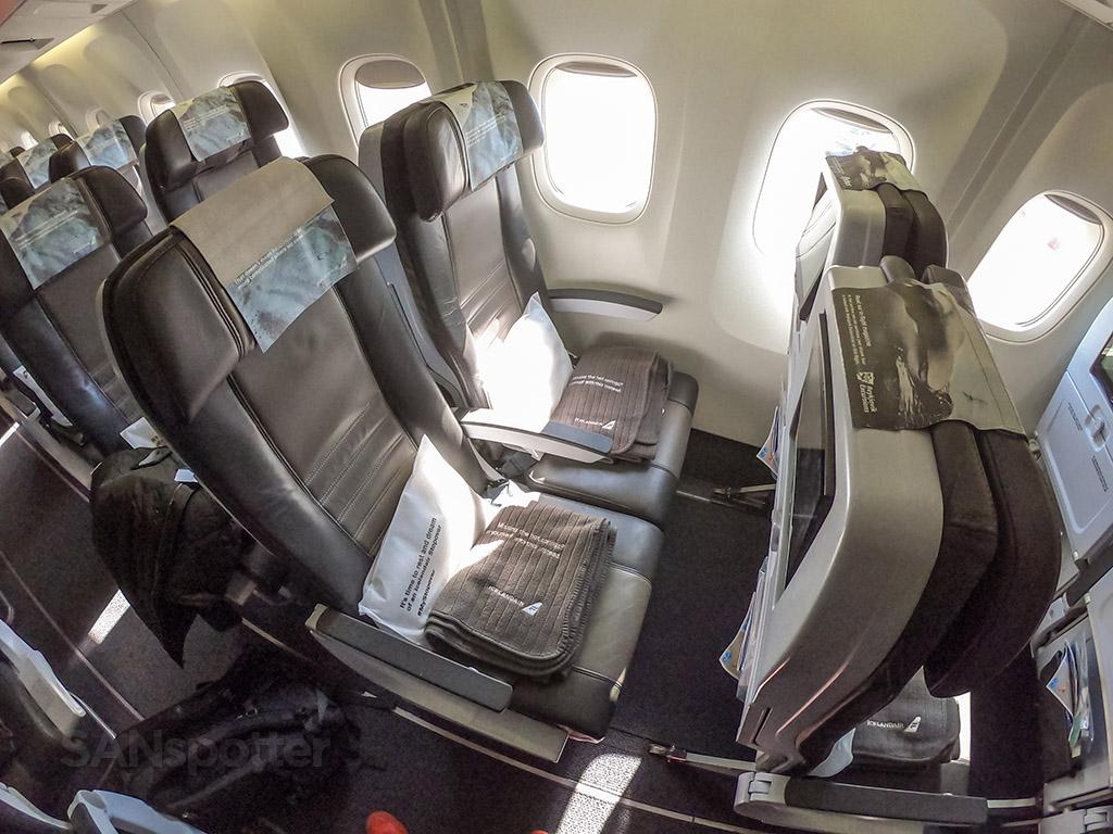 Icelandair economy class seats