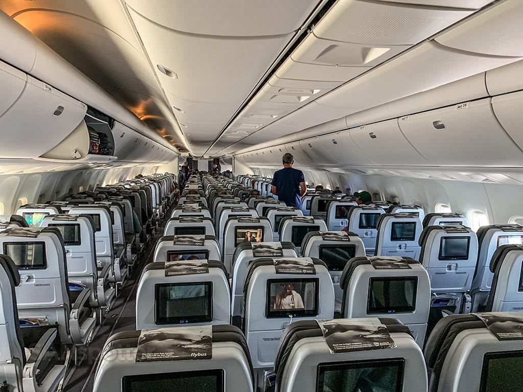 Empty Icelandair 767