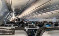 Icelandair 767-300 economy cabin interior
