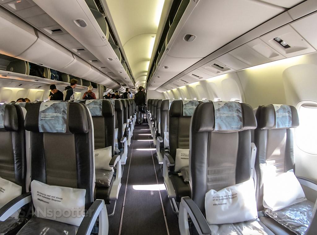 Icelandair economy seats
