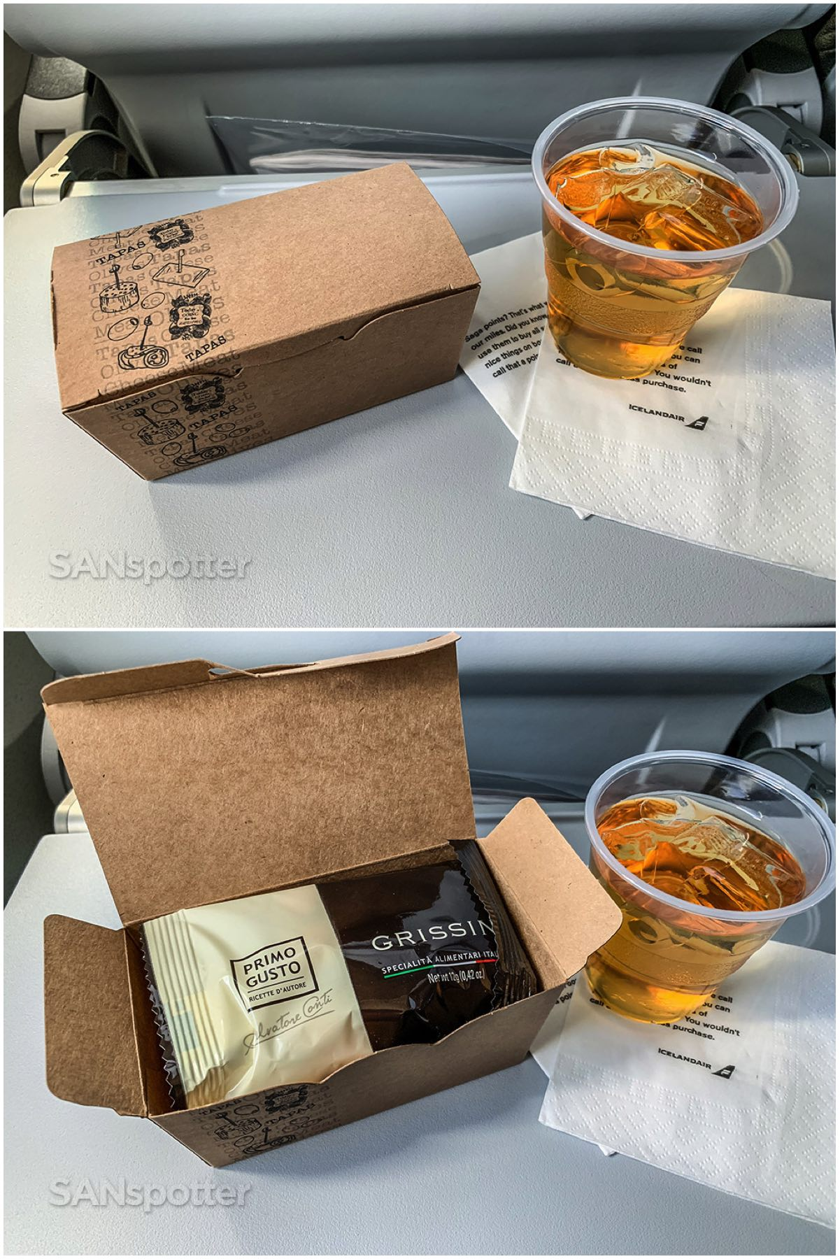 Icelandair snack box