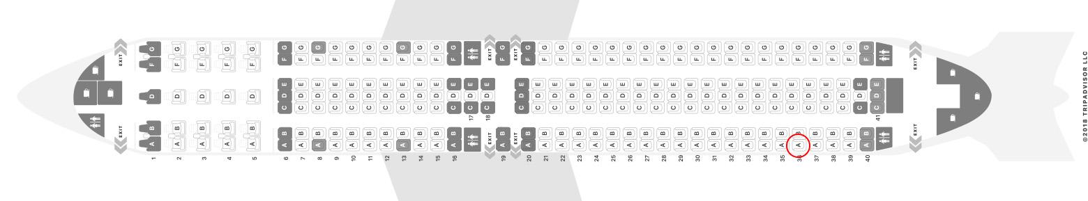 Icelandair 767-300 seat map