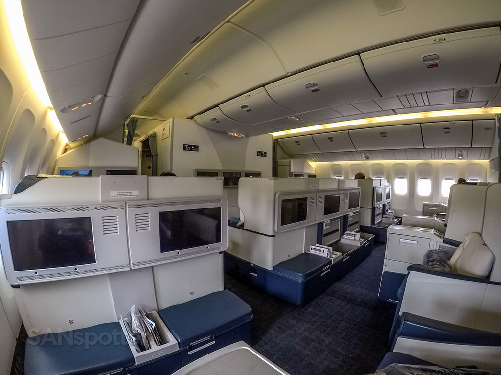 Philippine Airlines 777-300 business class new layout