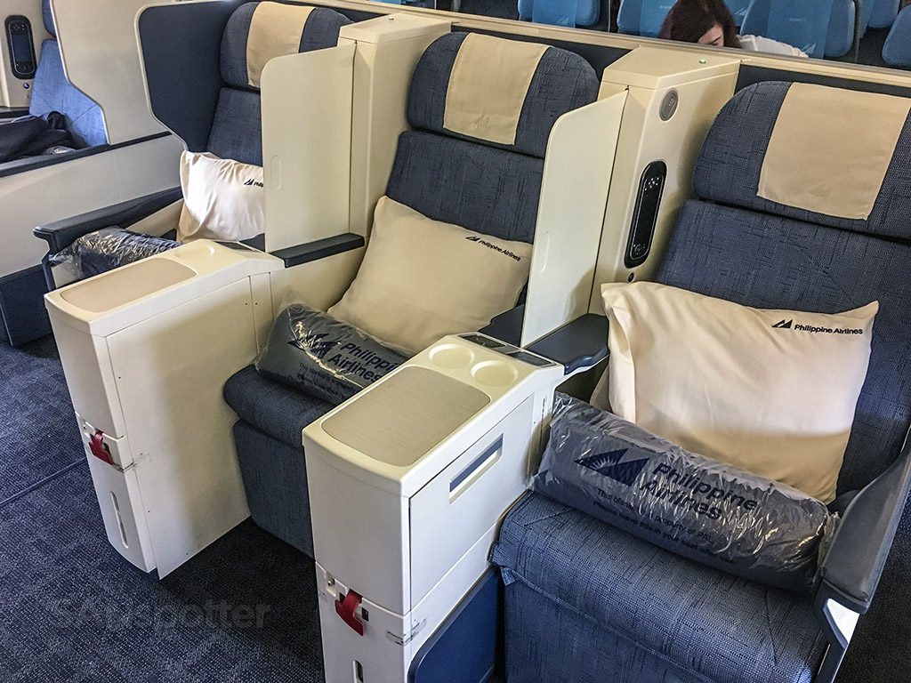 Philippine airlines 777-300 business class experience