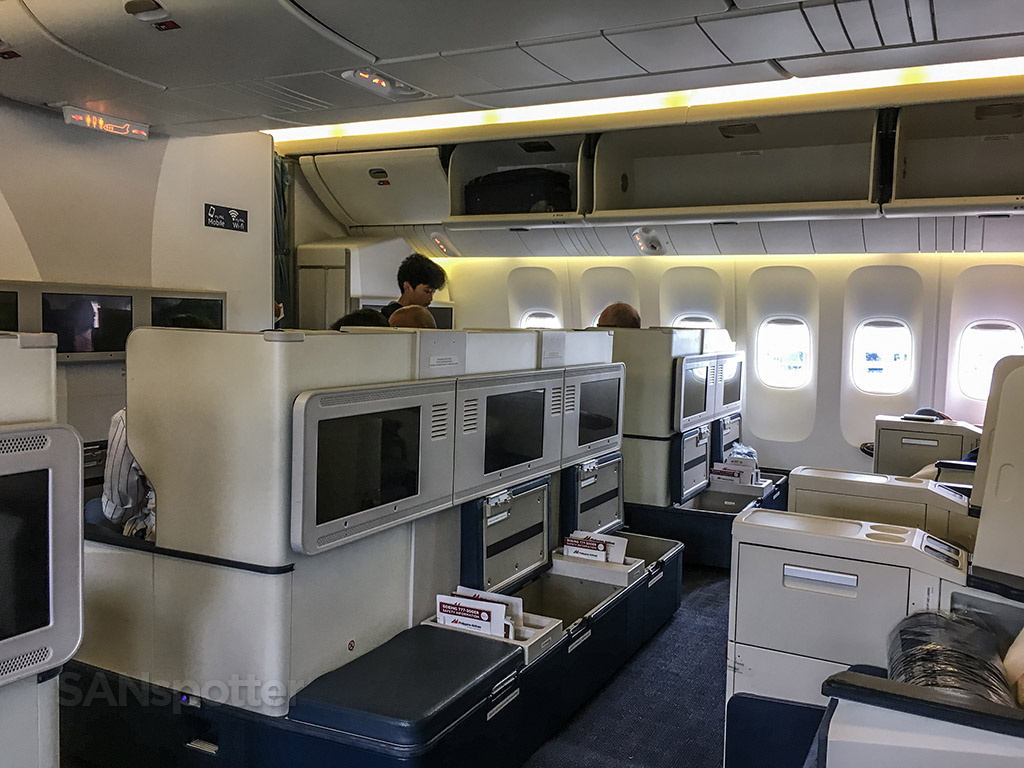 Philippine airlines 777-300 business class configuration