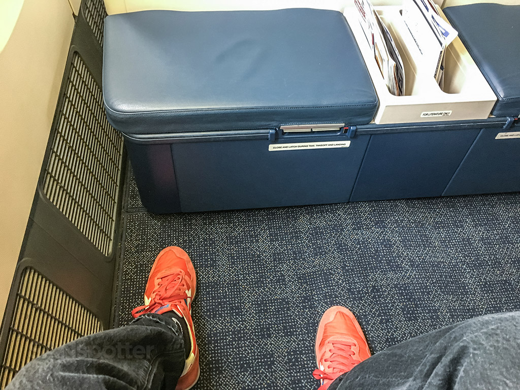 Philippine Airlines 777 business class leg room