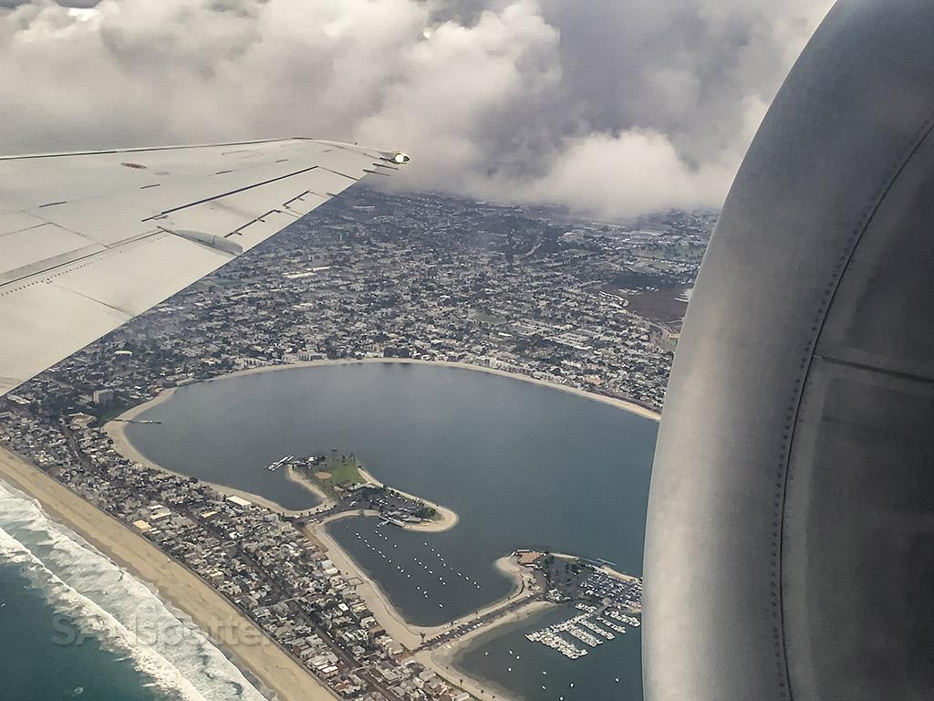 departing san diego delta 717-200