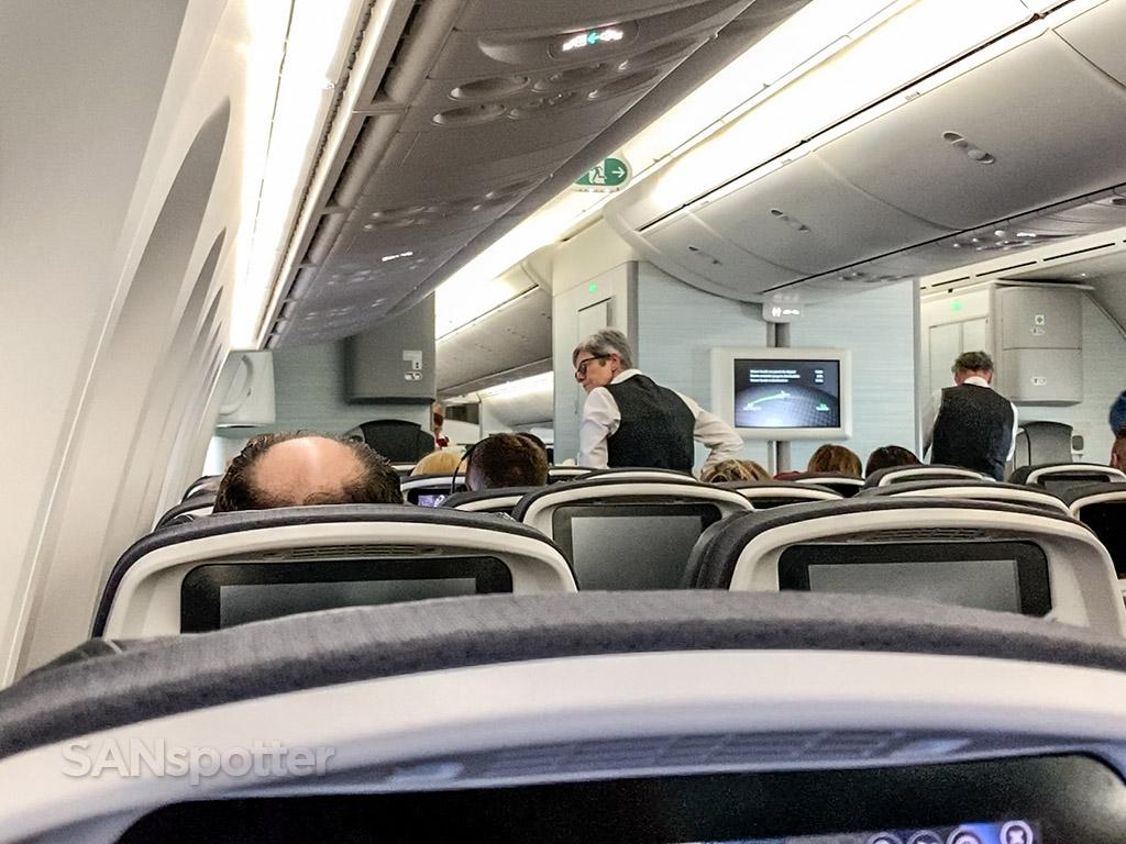 Air Canada in flight service