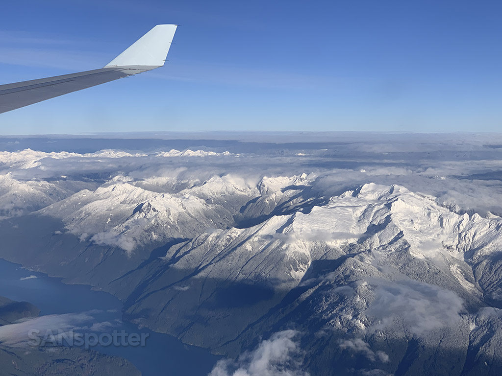 stunning mountain views YVR approach