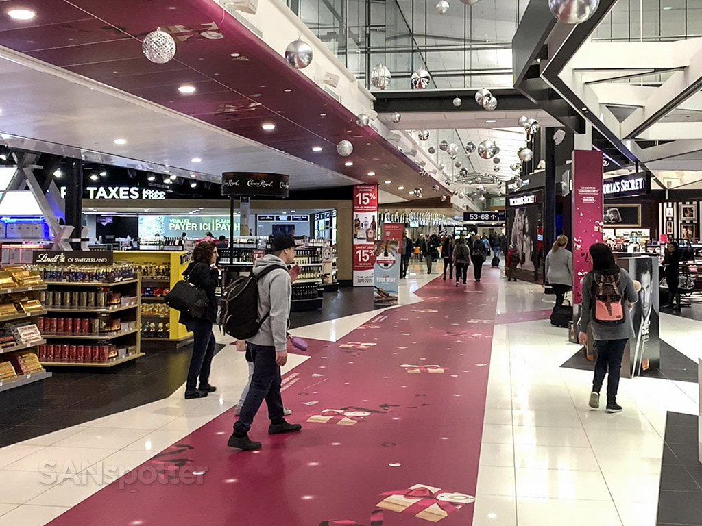YUL airport shopping and duty free