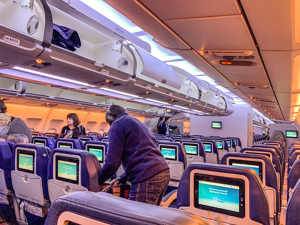 Air transat A330-300 new economy class