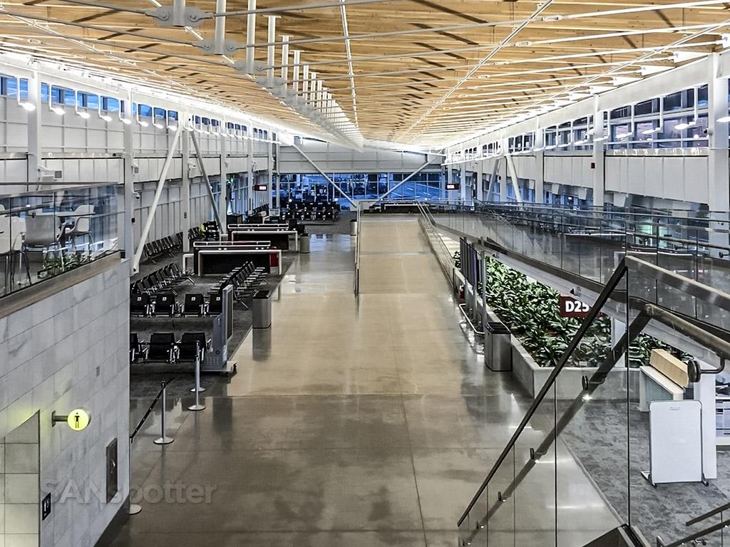 New terminal D SeaTac airport