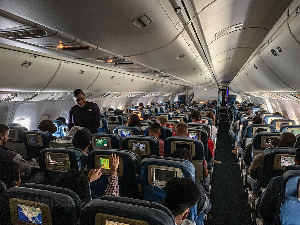Delta 767-400 economy review