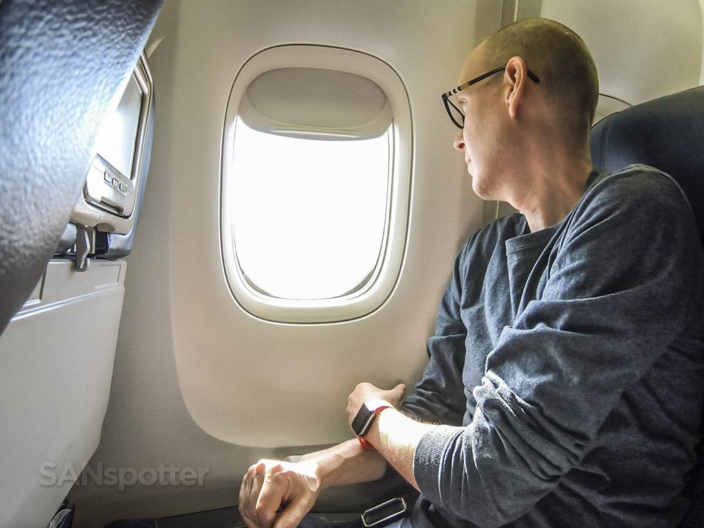 SANspotter selfie delta 767-400