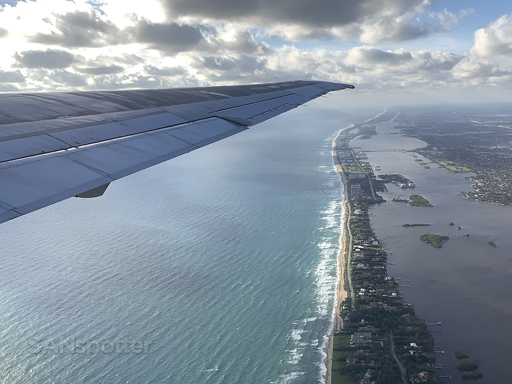 West Palm Beach Airport departure