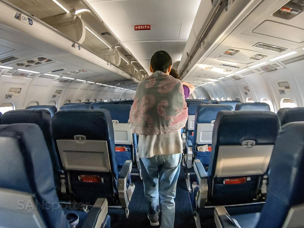 Delta MD88 economy seats