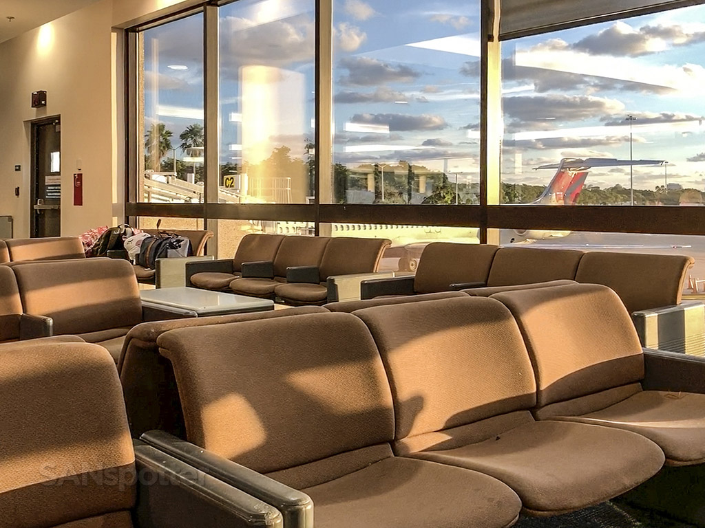 West Palm beach airport interior