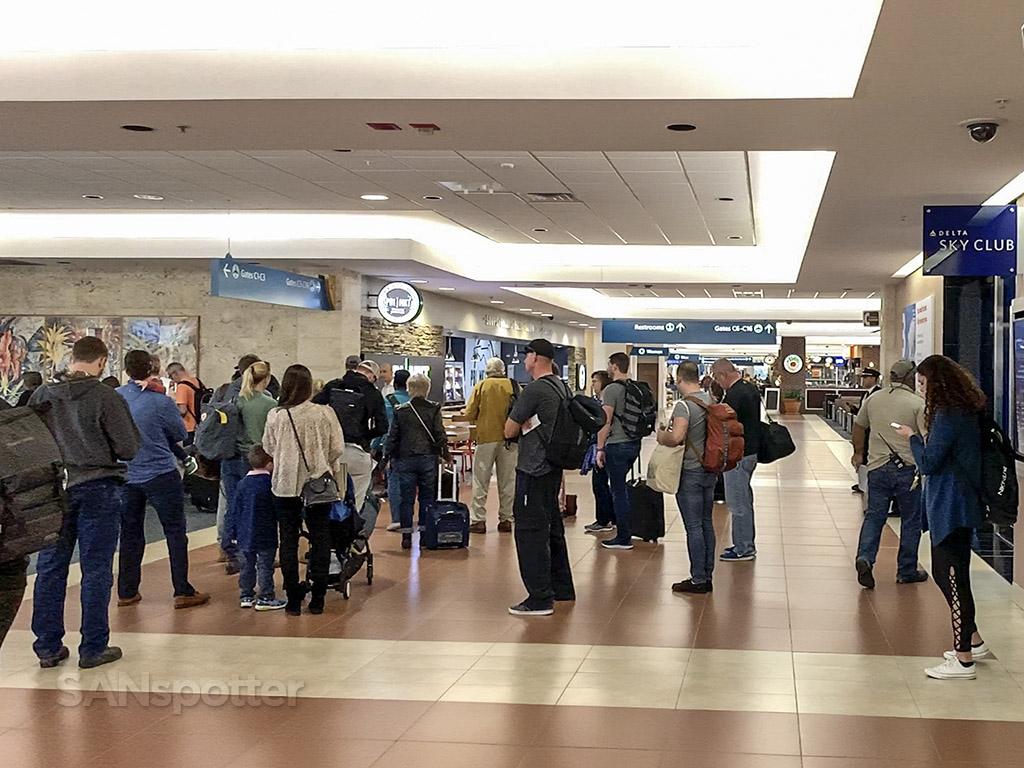 PBI airport interior